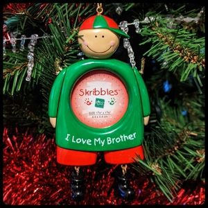 """""""I love my brother"""" Ornament"""